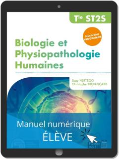 Biologie et Physiopathologie humaines Tle ST2S (2020) Pochette - Manuel numérique élève