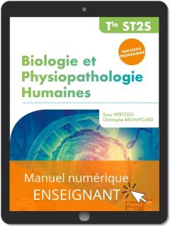 Biologie et physiopathologie humaines Tle ST2S (2020) - Pochette - Manuel numérique enseignant