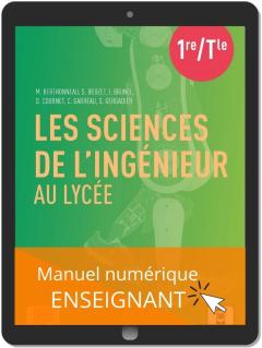 Les sciences de l'ingénieur au lycée (2021) - Manuel - Manuel numérique enseignant