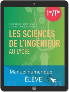 Les sciences de l'ingénieur au lycée (2021) - Manuel - Manuel numérique élève