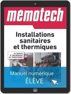 Mémotech Installations sanitaires et thermiques (2016) - Référence - Manuel numérique élève