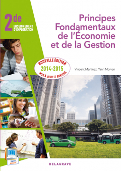 PFEG 2de (2014) - Pochette élève