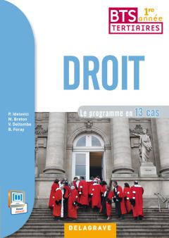 Droit 1re année BTS (2014) - Pochette élève