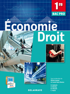 Économie - Droit 1re Bac Pro (2014) - Pochette élève