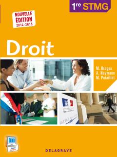 Droit 1re - STMG - Pochette élève (2014)