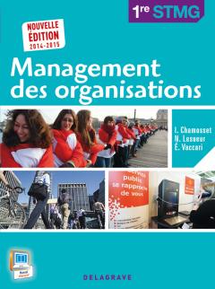 Management des organisations - 1re STMG (2014) - Pochette élève