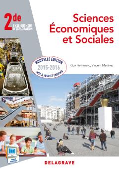 Sciences économiques et sociales (SES) 2de (2015) - Pochette élève