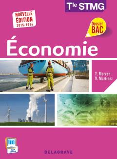 Economie Tle STMG (2015) - Pochette élève