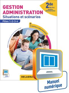 Gestion Administration 2de Bac Pro GA (Ed. 2015) - Manuel numérique élève