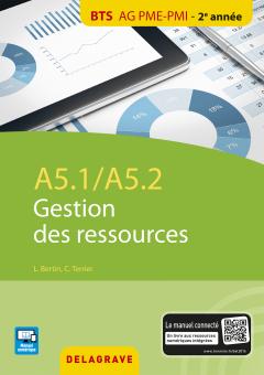 A5.1 / A5.2 Gestion des ressources BTS AG PME-PMI (2016) - Pochette élève
