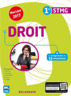 Droit 1re STMG  (2016) - Pochette élève