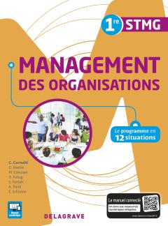 Management des organisations 1re STMG  (2016) - Pochette élève