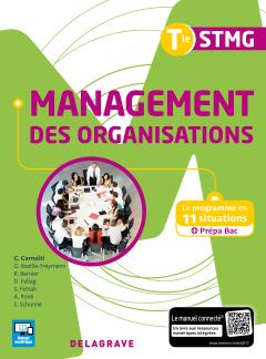 Management des organisations Tle STMG (2017) - Pochette élève