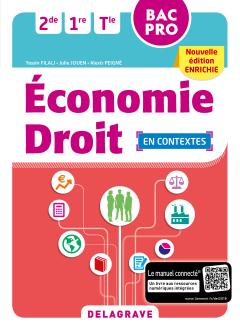 Économie-Droit 2de, 1re, Tle Bac Pro (2018) - Pochette élève