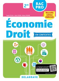 Économie-Droit 2de Bac Pro (2018) - Pochette élève