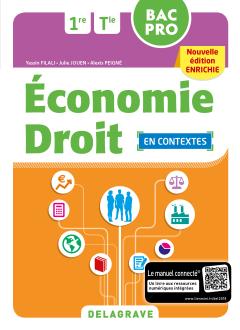Économie Droit 1re, Tle Bac Pro (2018) - Pochette élève