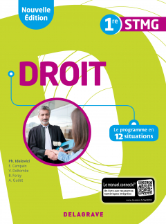 Droit 1re STMG (2018) - Pochette élève