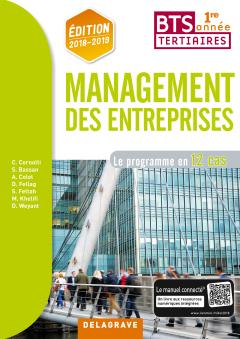 Management des entreprises BTS 1re année (2018) - Pochette élève