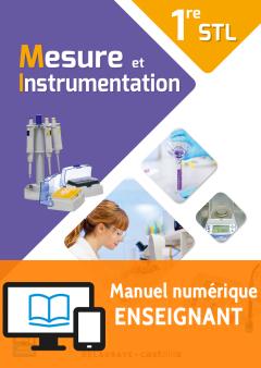 Mesure et instrumentation 1re STL (2017) - Livre numérique enseignant