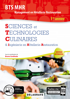 Sciences et Technologies Culinaires (STC), BTS MHR 1re Année (2019) - Pochette élève