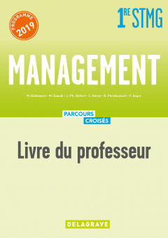 Management 1re STMG (2019) - Manuel - Livre du professeur