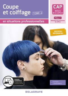 Coupe et coiffage - Pôle 1 T2 - CAP Métiers de la coiffure (2020) - Pochette élève
