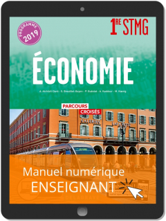 Économie 1re STMG (2019) - Manuel numérique enseignant