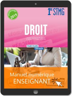 Droit 1re STMG (2019) - Manuel - Manuel numérique enseignant