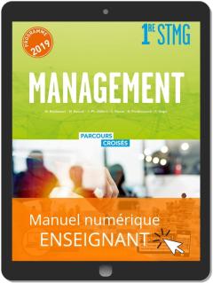 Management 1re STMG (2019) Manuel - Manuel numérique enseignant