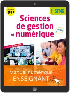 Sciences de gestion et numérique 1re STMG (2019) Pochette - Réseaux STMG - Manuel numérique enseignant