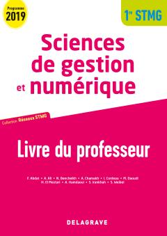 Sciences de gestion et numérique 1re STMG (2019) - Réseaux STMG - Pochette - Livre du professeur pochette