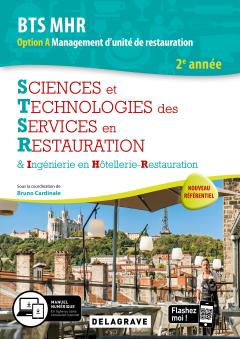 Sciences et Technologies des Services en Restauration (STSR) 2e année BTS MHR (2020) - Pochette élève