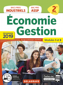 Economie Gestion 2de Bac Pro (2019) - Pochette élève