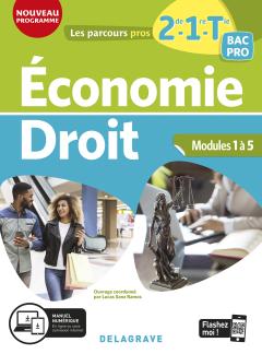 Économie-Droit 2de, 1re, Tle Bac Pro (2020) - Pochette élève