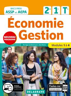 Économie-Gestion 2de, 1re, Tle Bac Pro ASSP et AEPA (2020) - Pochette élève