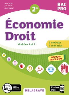 Économie-Droit 2de Bac Pro (2020) - Pochette élève