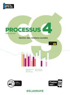 Processus 4 - Gestion des relations sociales BTS Comptabilité Gestion (CG)(2020) - Pochette élève