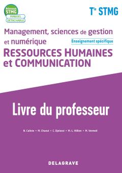 Management, sciences de gestion et numérique - Ressources Humaines et communication enseignement spécifique Tle STMG (2020) - Livre du professeur pochette