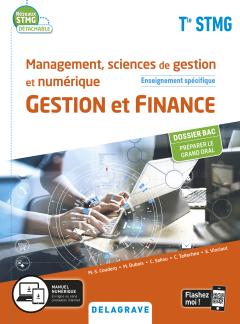 Management, sciences de gestion et numérique - Gestion et Finance enseignement spécifique Tle STMG (2020) - Pochette élève
