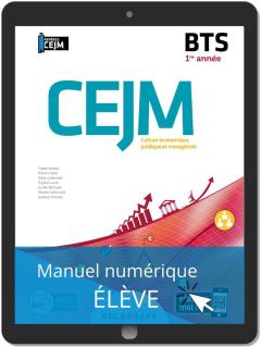 Culture économique, juridique et managériale (CEJM) 1re année BTS (2020) - Manuel numérique élève