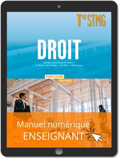 Droit Tle STMG (2020) - Manuel - Manuel numérique enseignant