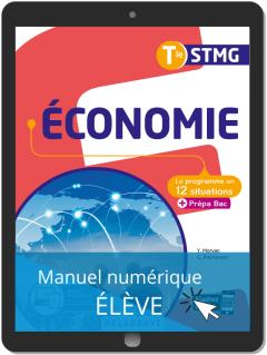 Économie Tle STMG (2020) - Pochette - Manuel numérique élève