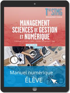 Management, Sciences de gestion et numérique Tle STMG (2020) - Manuel - Manuel numérique élève