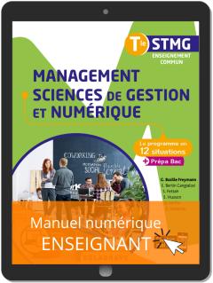 Management, Sciences de gestion et numérique Tle STMG (2020) Pochette - Manuel numérique enseignant