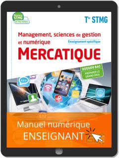 Management, Sciences de gestion et numérique - Mercatique enseignement spécifique Tle STMG (2020) - Pochette - Manuel numérique enseignant