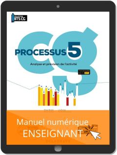 Processus 5 - Analyse et prévision de l'activité BTS Comptabilité Gestion (CG) (2020) - Pochette - Manuel numérique enseignant