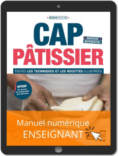 CAP Pâtissier (2020) - Manuel numérique enseignant