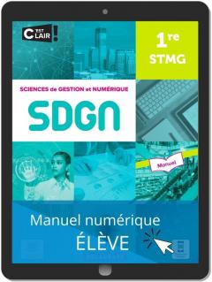 Sciences de gestion et numérique 1re STMG (2021) - Pochette - Manuel numérique élève