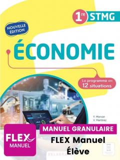 Économie 1re STMG (Ed. num. 2021) - FLEX manuel numérique granulaire élève