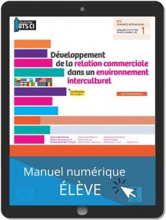 Développement de la relation commerciale dans un environnement interculturel, BTS Commerce international (2021) - Pochette - Manuel numérique élève